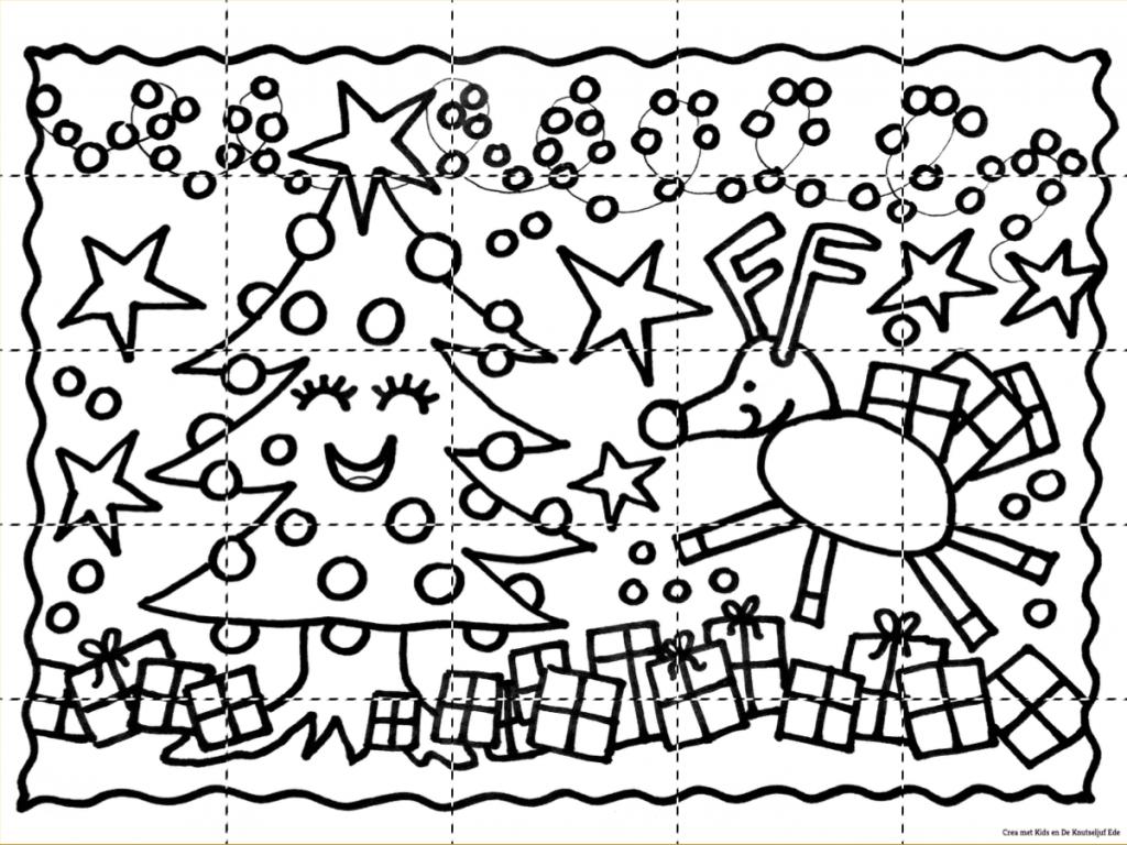 Grote Kleurplaten Kerstboom.Block Poster Kleurplaten De Knutseljuf Ede